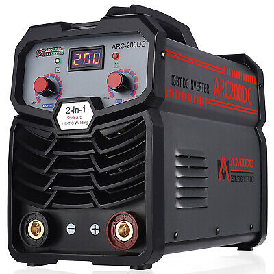 S160-AM 160 Amp Stick Arc DC Inverter Welder 115/230V Dual Voltage Welding