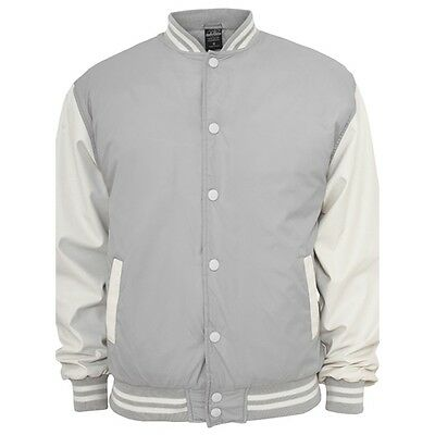 Nylon College Jacken Urban Classic in Grau - Uni Jacke