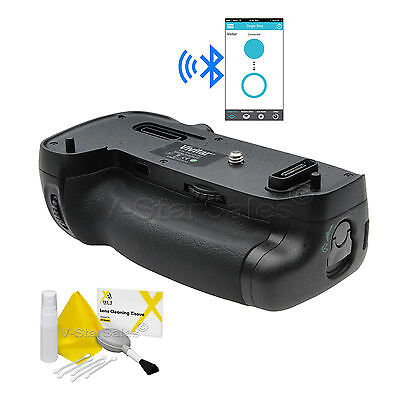 Vivitar MB-D16 Bluetooth Battery Grip for Nikon D750 + Deluxe Cleaning Kit