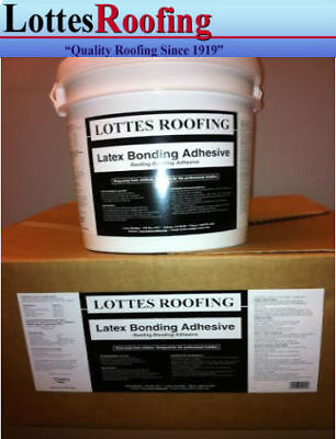 1 Gallon Latex  EPDM AND TPO RUBBER ROOFING Bonding Adhesive