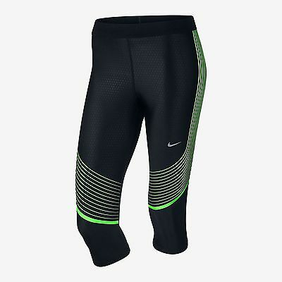 4289240e5b4d Nwt  110 Women s Nike Power Speed Running Capris Tights Gym Yoga Size Small