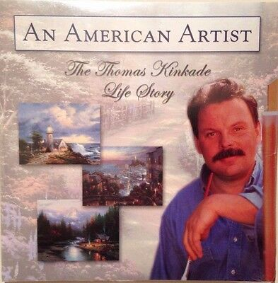"Exclusive Thomas Kinkade Life Story DVD ""An American Artist"" - BRAND NEW"