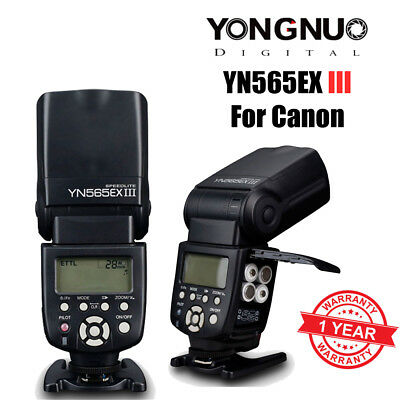 Yongnuo YN-565EX II Flash Speedlite E-TTL for Canon 580EX II 5D II 7D Camera UK
