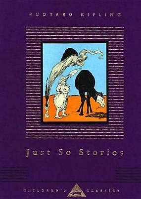 Just So Stories by Rudyard Kipling (English) Hardcover Book Free Shipping!
