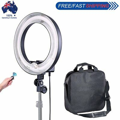 400W 5500K 34cm Undimmable Photo Video Fluorescent Ring Light Studio Make Up AU