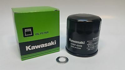 Kawasaki ATV and Quad Genuine Oil Filter with FREE sump washer 160970008