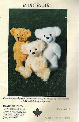 Baby Bear pattern Jean Paccagnan