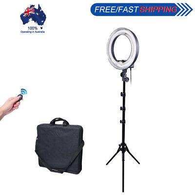 400W 34cm Undimmable Video Fluorescent Ring Light Lamp + 185cm Reverse Stand