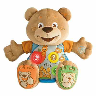 Chicco Educational Electronic Count With Me Bilingual Teddy Bear