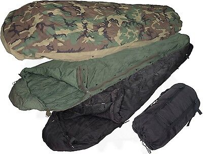 US Military 4 Piece Modular Sleeping Bag Sleep System VCG