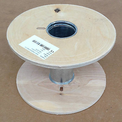 Empty Wooden 30 cm by 20 cm Reel Wood Spool Drum Perfect to Upcycle or Reuse