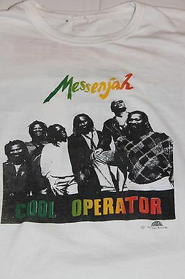 Messenjah Cool Operator Tour 1987 1988 Original Vintage T-Shirt XL