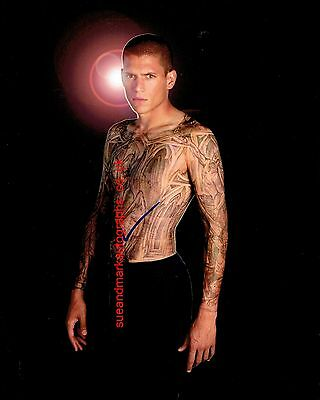 Wentworth Miller Prison Break Michael Scofield Tattoo Autograph UACC RD 96