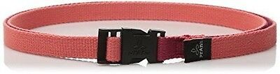 prAna Chalkbag Cotton Belt, One Size, Sun Washed Red