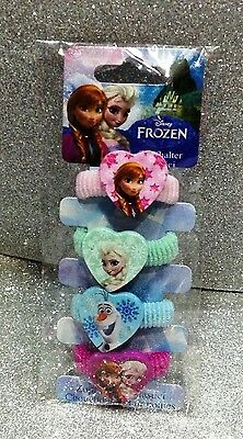 Disney Frozen Elastici Per Capelli Hair Elastics + 3 Anni In Blister 4 Pieces