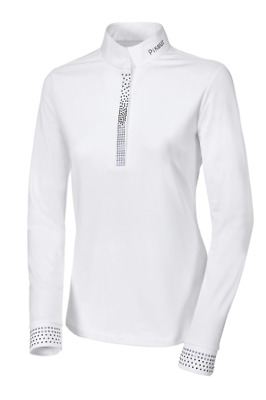 Pikeur Womens Competition Shirt 1/1 Sleeve - White