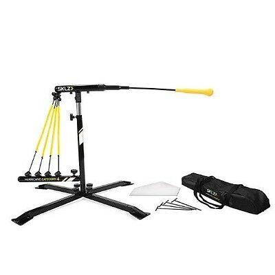 SKLZ Hurricane Category 4 Batting Trainer, Solo Swing Trainer for Baseball and S