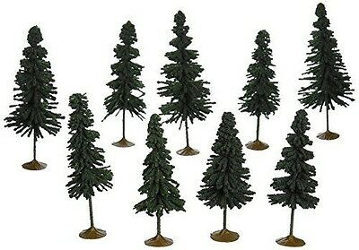Bachmann Trains inches 4 inches  Spruce Trees 9 Per Box