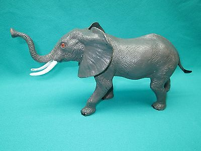 "Collectable Plastic Elephant Marked ""anky"""
