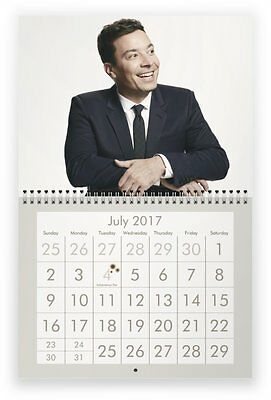 JIMMY FALLON 2017 Wall Calendar
