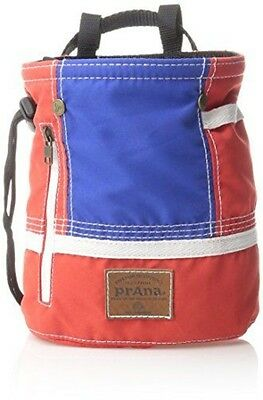 prAna Color Block Chalk Bag, One Size, Red White Blue