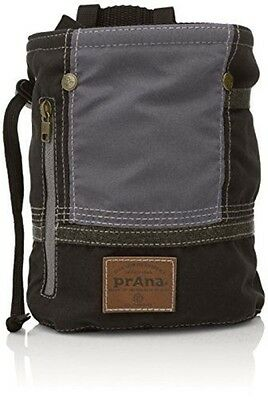 prAna Color Block Chalk Bag, One Size, Black