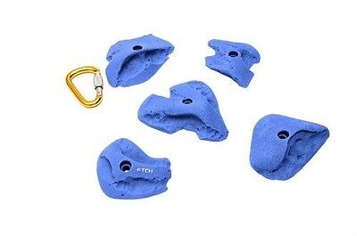 ETCH Joe's Set F Climbing Hold, Blue