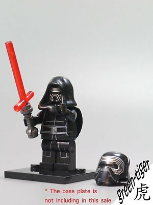 B145 Star wars Episode VII The Force Awakens Kylo Ren minifigure fit lego custom