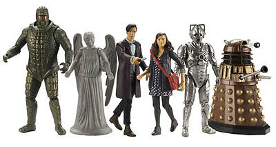 """Bbc Doctor Who 3.75"""" Figure - Choose Your Character - Series 7 Dalek, Cyberman"""