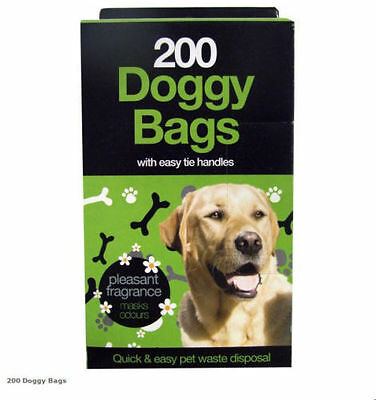 Scented Doggy Bags Pet Pooper Scooper Bag Dog/cat Poo Waste Material Toilet Bags