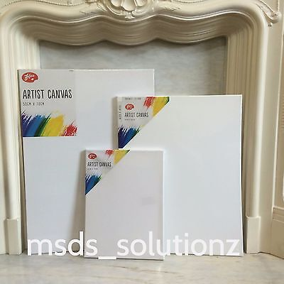 100%cotton Artist Plain White Stretched Painting Canvas/acrylic Framed Sketch