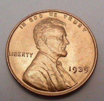 1939 P Lincoln Wheat Cent / Penny *FINE OR BETTER*  **FREE SHIPPING**
