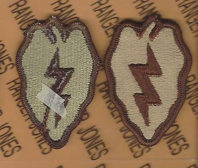 US Army 25th Infantry Division Desert DCU uniform patch m/e