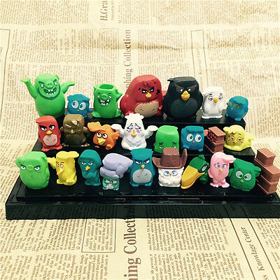 Cute 25pcs Movie Angry Birds Action Figures Doll Kids Children Baby Toy Set Gift