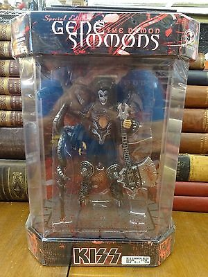 McFarlane Toys KISS GENE SIMMONS Special Edition THE DEMON Ultra-Action Figure