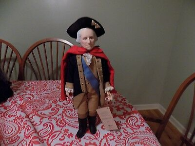 "Effanbee ""George Washington""  The Presidents Doll"