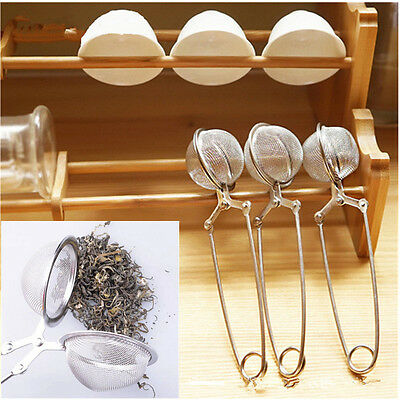 1 Stainless Steel Loose Tea Infuser Leaf Strainer Filter Diffuser Herbal Spice B
