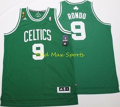 caea9cc1478 RAJON RONDO Boston CELTICS Adidas FINALS Road SWINGMAN Throwback Jersey  S-2XL