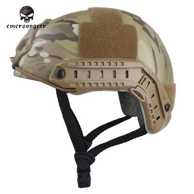 Tactical FAST Helmet EMERSON MH Type cycling Aisroft Military Duty Headwear 8812