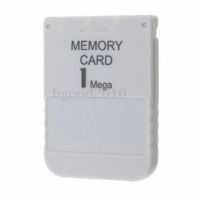 1MB 15 Block Memory Card For Sony PS1 Playstation 1 PSX UK