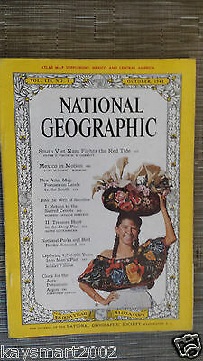 National Geographic- EXPLORING 1,750.000 YEARS INTO MAN'S PAST - October 1961