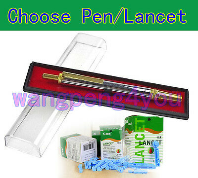 Choose Twist Off Stainless Steel Pen Or Blood Lancets Cupping Therapy Blood test