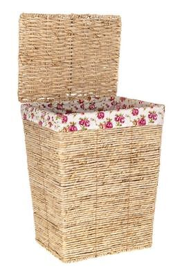 Large Deluxe Wicker Laundry Basket Washing Hamper Bin Clothes Storage Box