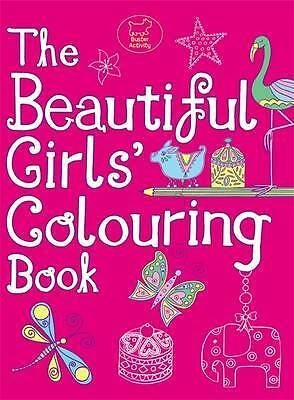 The Beautiful Girls' Colouring Book, na, New