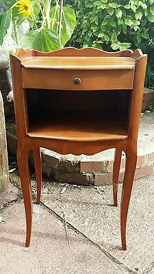 Vintage French Louis style bedside table