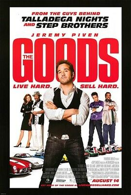 THE GOODS MOVIE POSTER 2 Sided ORIGINAL FINAL 27x40