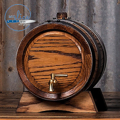 2.5lt Hand Crafted Oak Barrel Unseasoned - Home Brew / Spirits / Fortified Wine