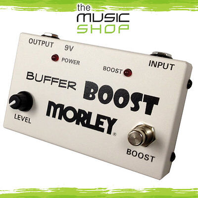 New Morley Buffer Boost Guitar Pedal - MBB Boost Pedal