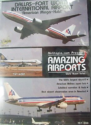 Airutopia Dallas Fort Worth International Airport American Mega Hub