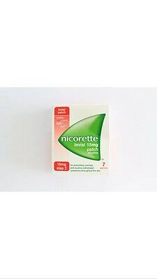 Nicorette Invisi 15mg Patch - Step 2 - 7 Patches BNIB 100% Auth